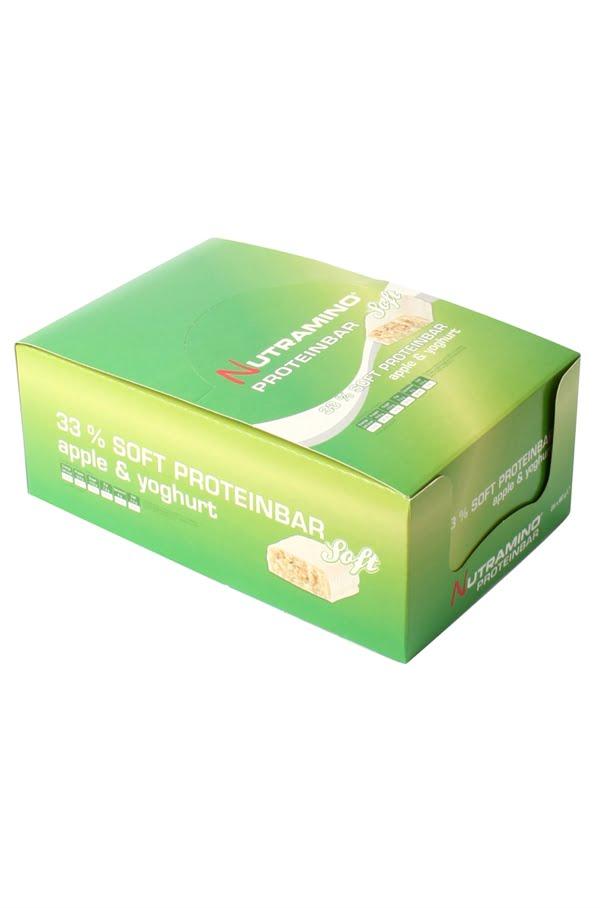 Nutramino Soft Aeble yoghurt 25 stk proteinbar