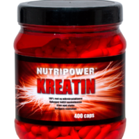 Nutripower Kreatin tabletter 400 stk