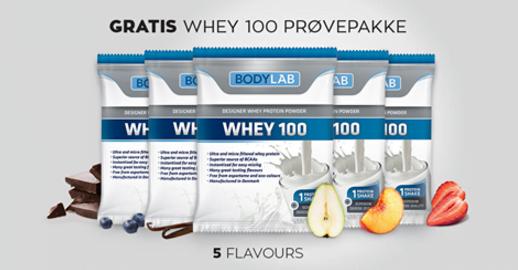 Gratis proteinpulver med i handlen